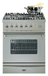 Photo Kitchen Stove ILVE T-60W-MP Stainless-Steel