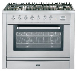Photo Kitchen Stove ILVE T-90L-VG Stainless-Steel