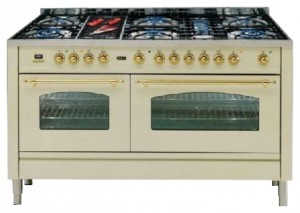 Photo Kitchen Stove ILVE PN-150B-VG Green