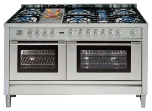 Photo Kitchen Stove ILVE PL-150F-VG Stainless-Steel