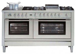 Photo Kitchen Stove ILVE PL-150FS-VG Stainless-Steel