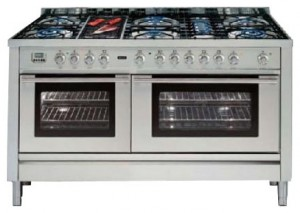 Photo Kitchen Stove ILVE PL-150B-VG Stainless-Steel