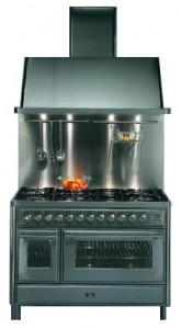 Photo Kitchen Stove ILVE MT-120FR-MP Blue