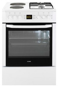 Photo Kitchen Stove BEKO CSM 64320 GW
