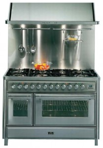 Photo Kitchen Stove ILVE MT-1207-VG Blue