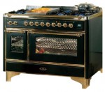 ILVE M-120V6-VG Blue Kitchen Stove