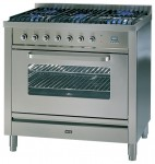 ILVE T-906W-MP Stainless-Steel Küchenherd